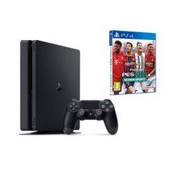 Sony PS4 500GB Slim & eFootball PES 2021 & myClub Bonus (Greek)