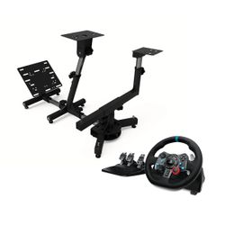 Logitech G29 Racing PS4 Τιμονιέρα & Arozzi Velocita Black Racing Simulator Stand
