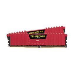 Corsair Vengeance LPX Red 8GB DDR4-2400MHz C14 (CMK16GX4M2A2400C14R) x2