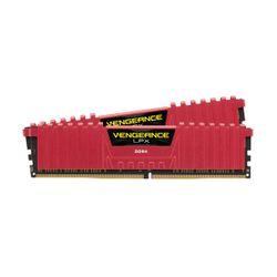 Corsair Vengeance LPX Red 8GB DDR4-3000MHz C15 (CMK16GX4M2B3000C15R) x2