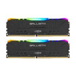 Crucial Ballistix RGB 8GB DDR4-3200MHz CL16 UDIMM NON-ECC (BL2K8G32C16U4BL) x2