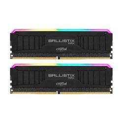 Crucial Ballistix Μax RGB 8GB DDR4-4000MHz C18 UDIMM (BLM2K8G40C18U4BL) x2