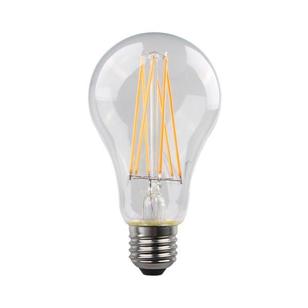 Eurolamp Led Κοινή Crossed Filament 9W E27 2700K Cl B