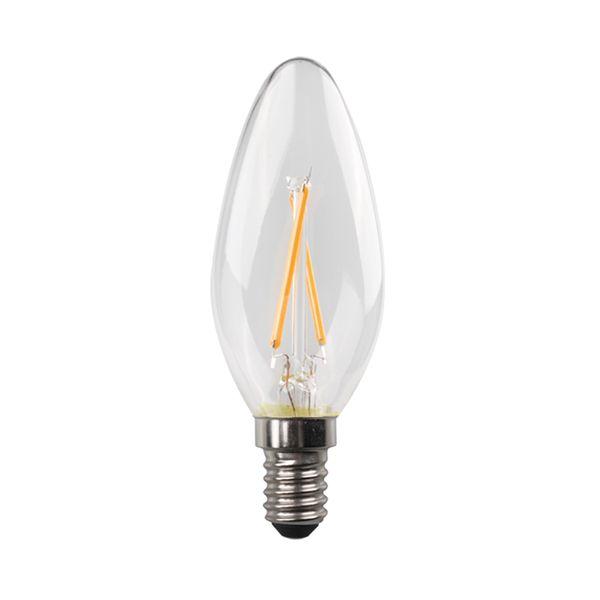 Eurolamp Led Κερί Crossed Filament 6,5W E14 2700K Blister