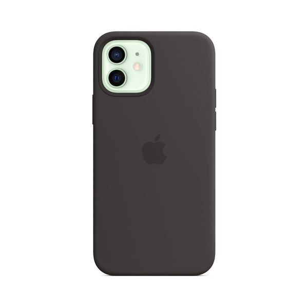 Apple iPhone 12 /12 Pro Silicone Cover with MagSafe Black