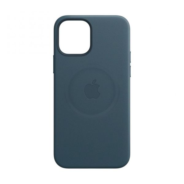 Apple iPhone 12/12 Pro Leather Case Baltic Blue with MagSafe