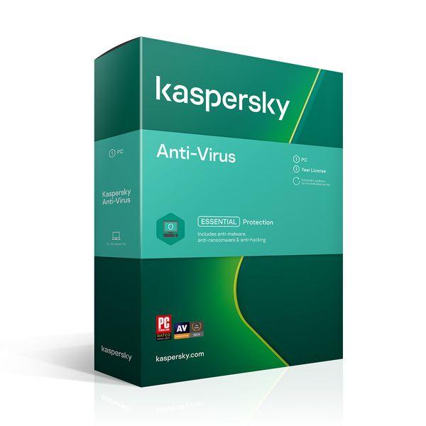 Kaspersky Αnti-Virus 1 Άδεια