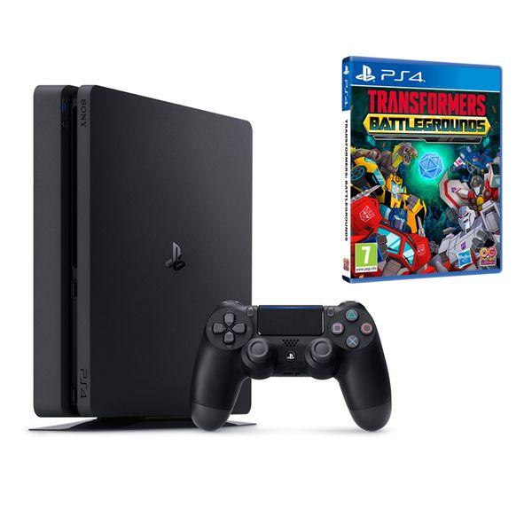 Sony PS4 500GB Slim & Transformers: Battlegrounds