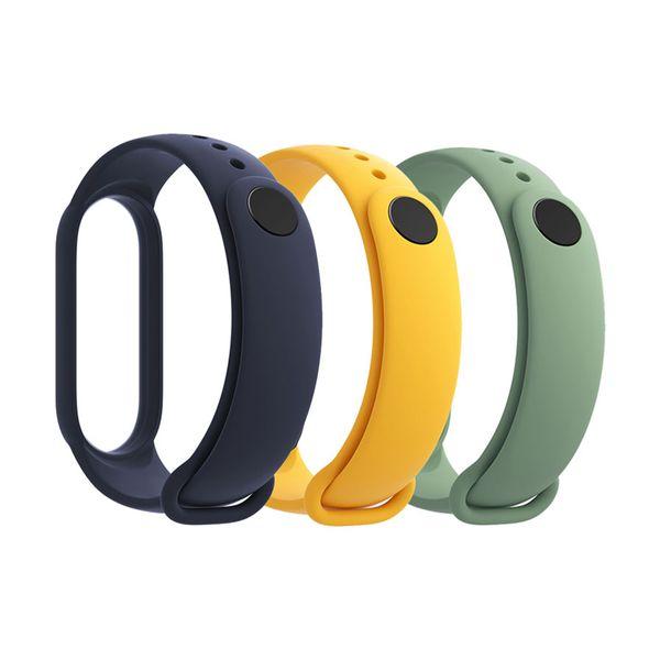 Xiaomi Mi Smart Band 5 Strap Blue-Yellow-Green
