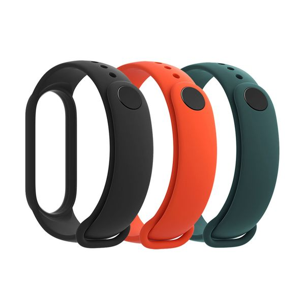 Xiaomi Mi Band 5 Strap Black-Orange-Yellow