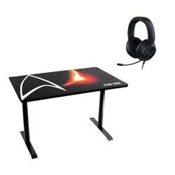 Arozzi Leggero Star Trek Gaming Desk & Razer Kraken X 7.1 Gaming Headset