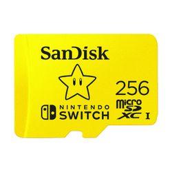 Sandisk MicroSDXC for Nintendo Switch 256GB