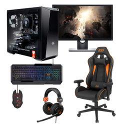 "Infinity Gear  Stealth R5 Rev.3 PC & Dell 24"" Monitor & ADX Gaming Καρέκλα & Headset & Πληκτρολόγιο & Ποντίκι"