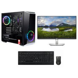 "Infinity Gear Core 2 PC & Dell 27"" 75Hz IPS Monitor & Advent Ασύρματο Πληκτρολόγιο & Ποντίκι"