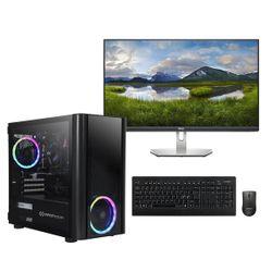 "Infinity Gear  Core 4S Rev.3 PC & Dell 27"" IPS Monitor & Advent Ασύρματο Πληκτρολόγιο/Ποντίκι"