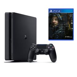 Sony PS4 500GB Slim & Death Stranding