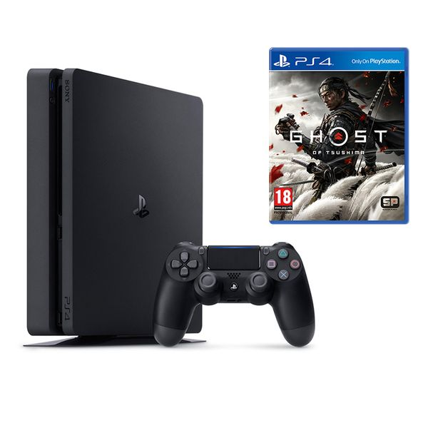 Sony PS4 500GB Slim & Ghost of Tsushima