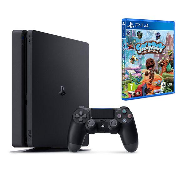 Sony  PS4 500GB Slim & Sackboy A Big Adventure
