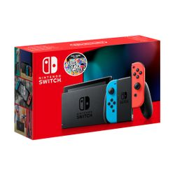 Nintendo Switch Red&Blue & Just Dance 2021