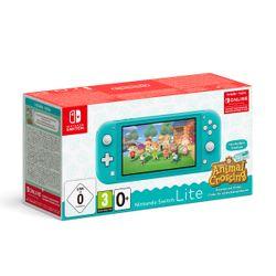 Nintendo Switch Lite Turquoise & Animal Crossing: New Horizons