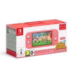 Nintendo Switch Lite Coral & Animal Crossing: New Horizons