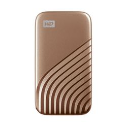 WD My Passport 500GB Gold