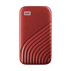 WD My Passport 500GB Red