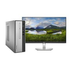 """Lenovo  IdeaCentre 3 i5-10400 PC & Dell 24"""" IPS Monitor"""