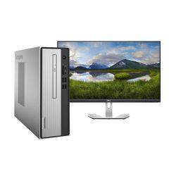Lenovo  IdeaCentre 3 i5-10400 PC & Dell 27'' IPS Monitor