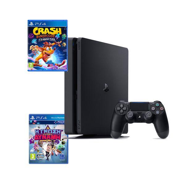 Sony PS4 500GB Slim & Crash Bandicoot 4 & Knowledge is Power