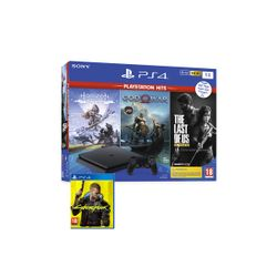 Sony PS4 1TB God of War & Horizon Zero Dawn & The Last of Us & Cyberpunk 2077