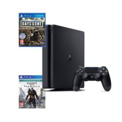 Sony  PS4 500GB & Assassin's Creed Valhalla Drakkar Edition & Days Gone