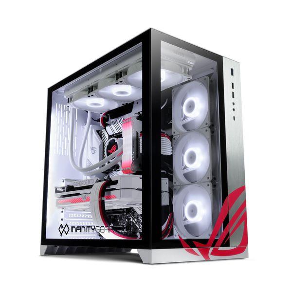 Infinity Gear  Model 9 Max ROG White