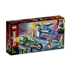 Lego Jay and Lloyd`s Velocity Racers