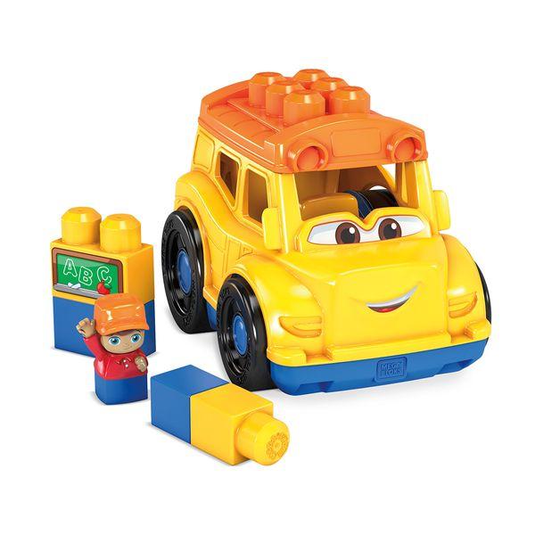 Mattel Mega Blocks Σχολικό Όχημα GCX10