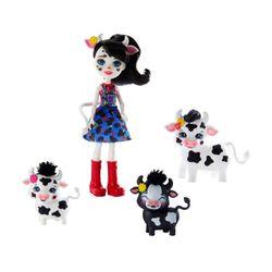 Mattel Enchantimals - Κούκλα & Ζωάκια Φιλαράκια Asst. GJX43
