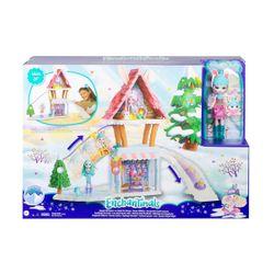 Mattel Enchantimals Χιονοδρομικό Σαλέ GJX50
