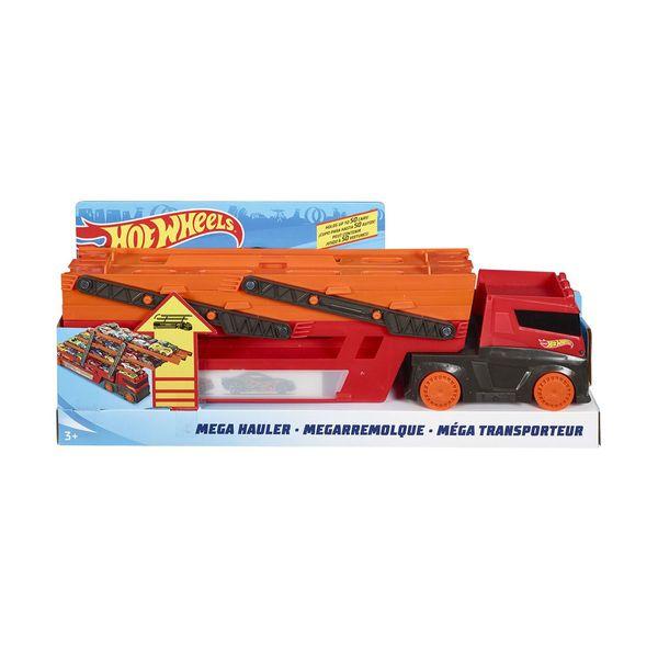 Mattel Hot Wheels Νέα Νταλικά Γκαράζ Έξι Επιπέδων GHR480