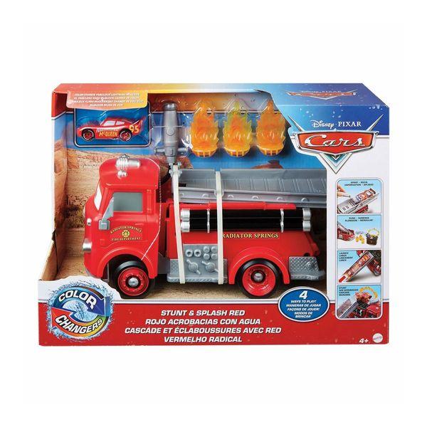 Mattel Cars Color Changers Πυροσβεστικό Ρεντ GPH80