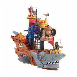 Fisher-Price Imaginext Πειρατικό Καράβι Καρχαρίας DHH61