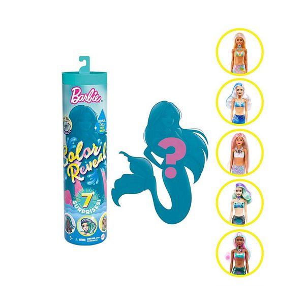 Mattel Barbie Colour Reveal Wave 4 GTP43