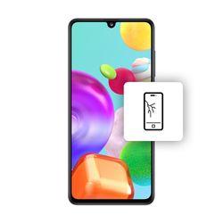 Αλλαγή Οθόνης LCD Samsung Galaxy A41 Black