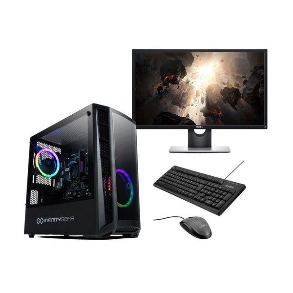 "Infinity Gear  Core 2 Rev.2 PC & Dell 24"" Monitor & Advent Ενσύρματο Πληκτρολόγιο/Ποντίκι"