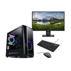 "Infinity Gear Core 2 Rev.2 PC & Dell 24"" IPS Monitor & Advent Ενσύρματο Πληκτρολόγιο/Ποντίκι"