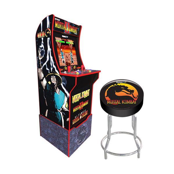 My Arcade Retro Arcade 1Up Mortal Kombat & Βάση καθίσματος