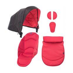 Chicco Σετ υφάσματα και κουκούλα για καρότσι Urban-red