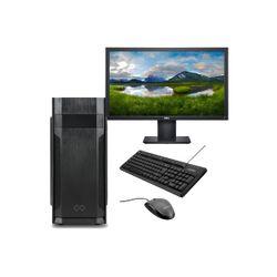 Infinity Gear Core 1 Rev.2 & Dell 21.5'' FHD Monitor & Advent Ενσύρματο Πληκτρολόγιο/Ποντίκι