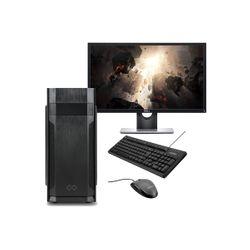 "Infinity Gear Core 1 Rev.2 & Dell 24"" Monitor & Advent Ενσύρματο Πληκτρολόγιο/Ποντίκι"