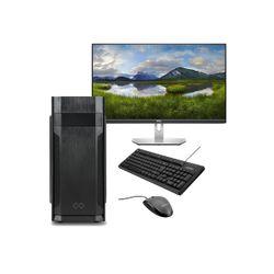 "Infinity Gear Core 1 Rev.2 & Dell 27"" IPS Monitor & Advent Ενσύρματο Πληκτρολόγιο/Ποντίκι"