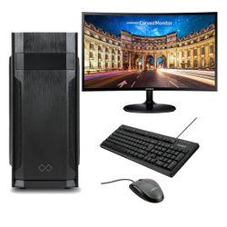 "Infinity Gear Core 1 Rev.2 PC & Samsung 27"" Curved Monitor & Advent Ενσύρματο Πληκτρολόγιο/Ποντίκι"